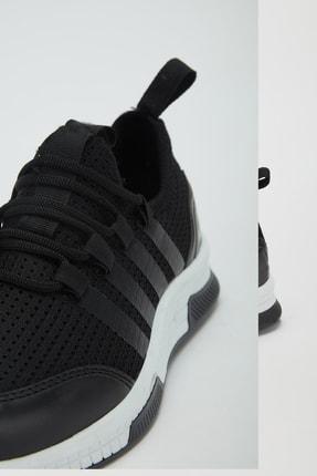 Muggo Unisex Siyah Sneaker Ayakkabı Mgforce01 4
