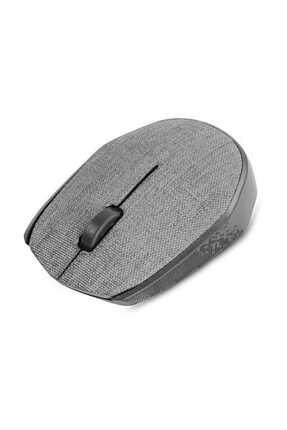 Everest Km-218 Usb Gri 2.4ghz Kumaş Yüzey Kablosuz Mouse 0