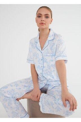 Suwen Laila Maskulen Pijama Takımı 0