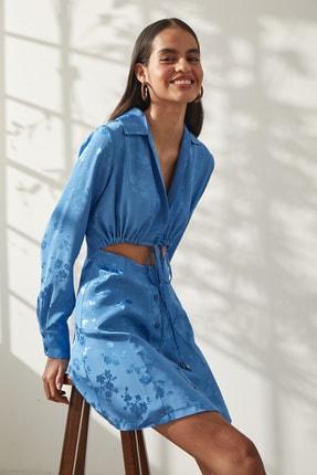 Urban Muse Kadın Jakarlı Gömlek Elbise 0