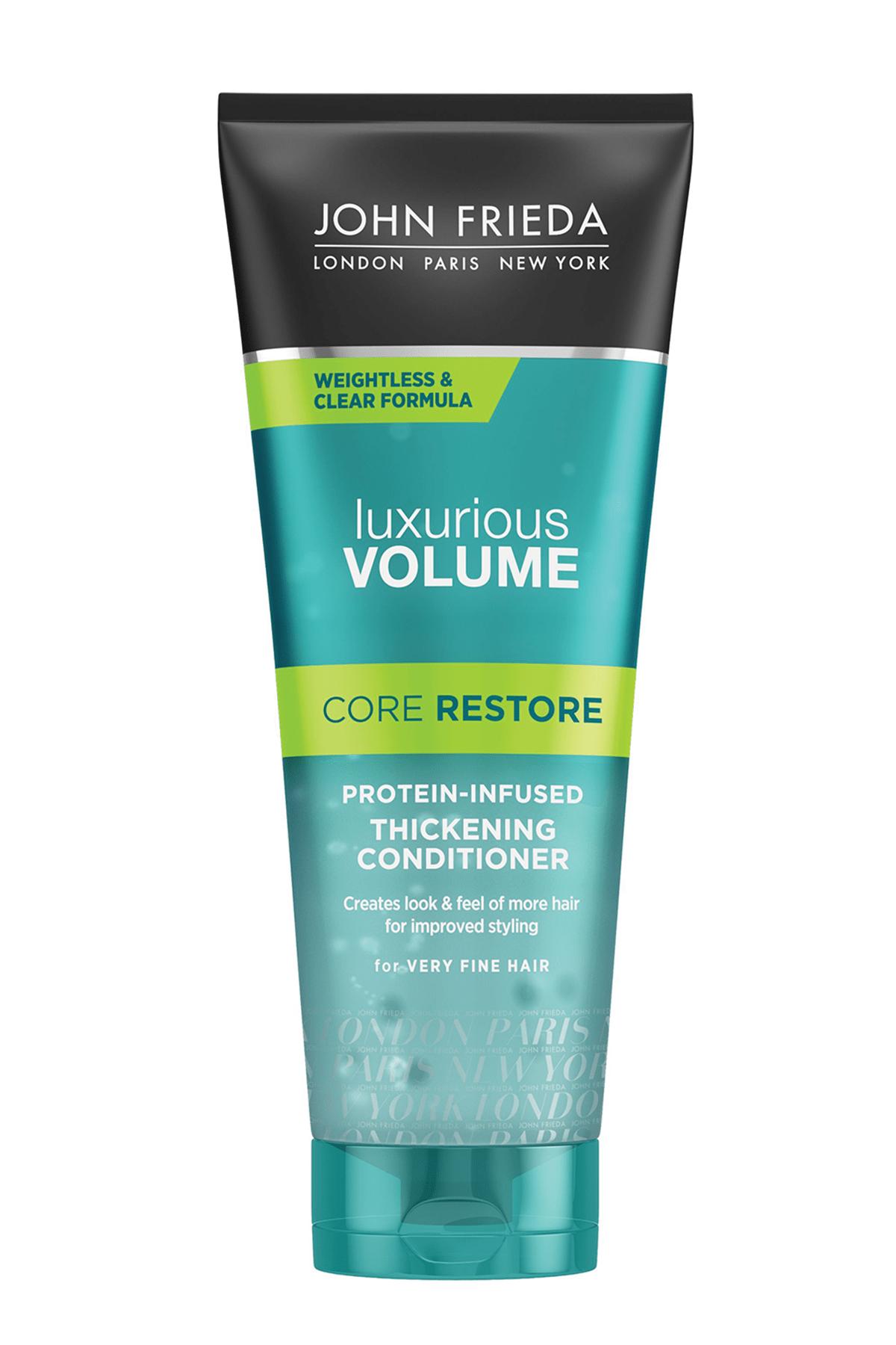 John Frieda İnce Ve Çok İnce Telli Saçlar İçin Protein Bazlı Dolgunlaştırıcı Saç Bakım Kremi 250 ml 0