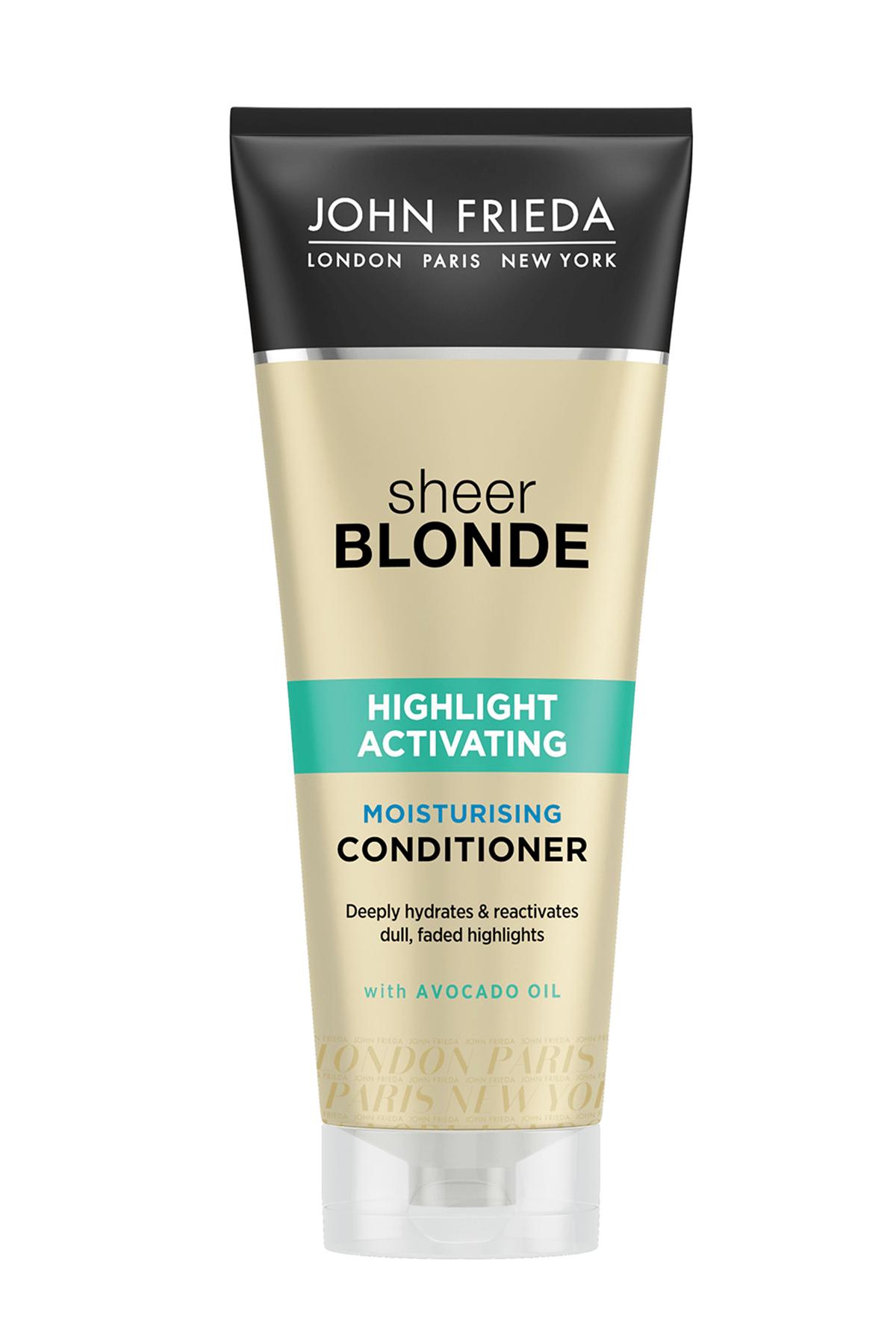 John Frieda Sarı Saçlara Özel Cansız Ve Rengi Solmuş Işıltılar İçin Renk Canlandırıcı Saç Bakım Kremi 250 ml 0