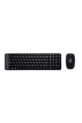 logitech MK220 Kablosuz Klavye & Mouse Seti-Siyah 0