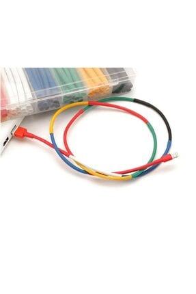 HONDEP Iphone Uyumlu Şarj Kablosu Karışık Renkli Koruyucu Makaron 12 Adet 6 cm 1