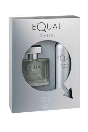 Equal Classic Erkek Edt 75 ml & Deodorant 150 ml 8690973028778 0