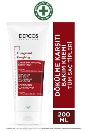 Vichy Dercos Energising Fortifying Conditioner 200 ml 0