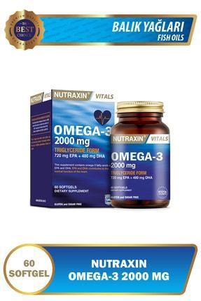 Nutraxin Omega 3 2000 Mg 60 Tablet 0