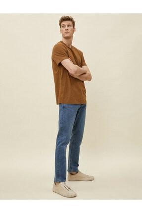 Koton Erkek Karma Mark Jean Pantolon 1