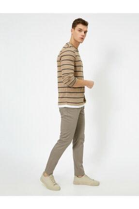 Koton Cep Detayli Slim Fit Pantolon 1