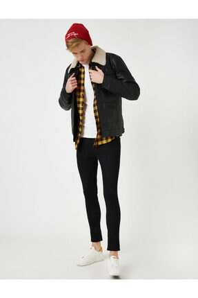 Koton Justin Super Skinny Fit Esnek Kumas Jean Pantolon 1