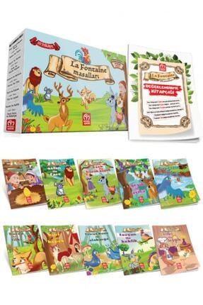 Model Yayınları 1. Sınıf Hikaye Seti – La Fontaine Masalları 10 Kitap 0