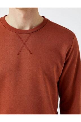 Koton Erkek Kırmızı Sweatshirt 4