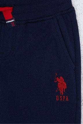 US Polo Assn Lacıvert Erkek Çocuk Eşofman Altı 2