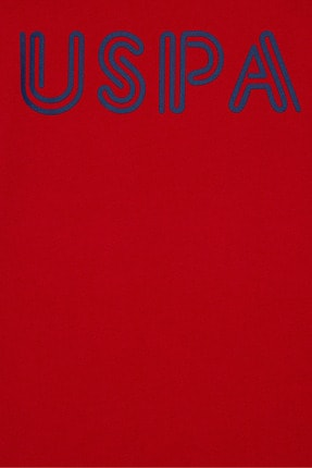 US Polo Assn Kırmızı Erkek Çocuk T-Shirt 2
