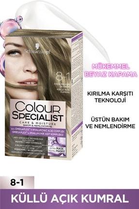 Colour Specialist Küllü Açik Kumral 8-1 X 2 Adet 1