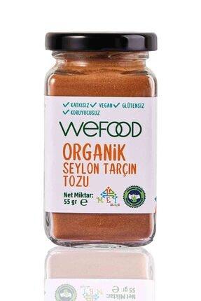 Wefood Organik Seylon Tarçın Tozu 55 gr 0