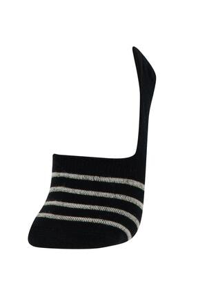Defacto Kadın Desenli  Babet Çorap 8'li 3