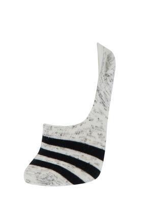 Defacto Kadın Desenli  Babet Çorap 8'li 4