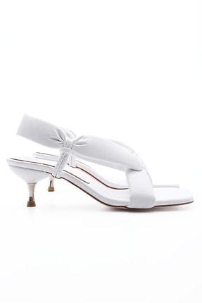 Marjin Kadın Parmak Arası Topuklu Sandalet Eltazbeyaz 2
