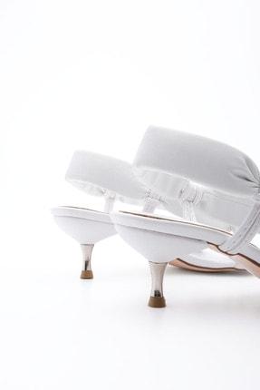 Marjin Kadın Parmak Arası Topuklu Sandalet Eltazbeyaz 3