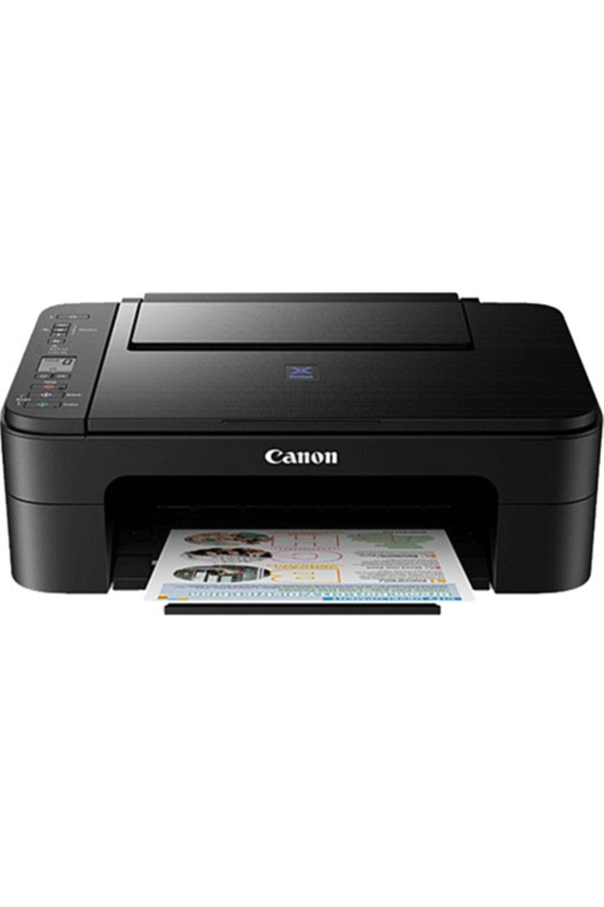 E3340 Renkli Inkjet Yazıcı / Fotokopi+Tarama / Wifi (Canon Eurasia Garantili)