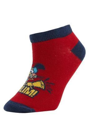 Defacto Erkek Çocuk Patik Çorap 2