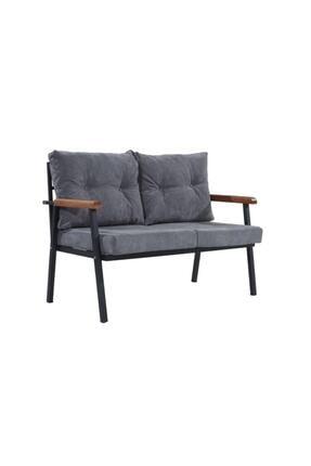 Mobilyamspot Koyu Gri Bahçe Sandalyesi Ve Balkon Koltuk Takımı - Patentli Ürün 2 2 1 1 Bahçe Koltuk Balkon Seti 1 1