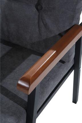 Mobilyamspot Koyu Gri Bahçe Sandalyesi Ve Balkon Koltuk Takımı - Patentli Ürün 2 2 1 1 Bahçe Koltuk Balkon Seti 1 4