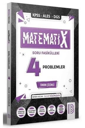 Benim Hocam Yayınları Benim Hocam 2021 Kpss Ales Dgs Matematix-4 Matematik Problemler Soru Fasikülleri Çözümlü 0