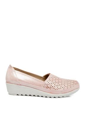 Tergan Pudra-simli Deri Kadın Ayakkabı 64206n0p 2