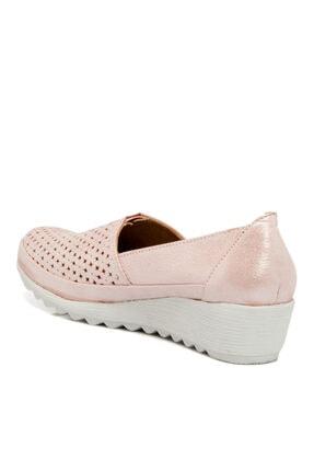 Tergan Pudra-simli Deri Kadın Ayakkabı 64206n0p 3