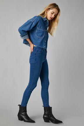 Koton Kadın Mıd Indıgo Jeans 1KAK47335DD 1