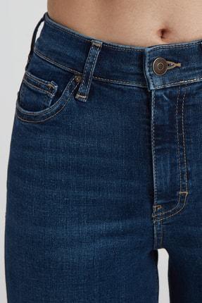 CROSS JEANS Judy Koyu Taş Indigo Yüksek Bel Skinny Fit Jean Pantolon 4