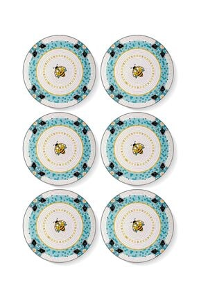 The Mia Patio Pasta Tabağı 6 Lı Set - 19 Cm 0