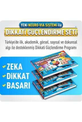 Adeda Yayınları 7 Yaş Dikkati Güçlendirme Seti ()neuro Via Sistemi Ile Hazırlanmış Adeda 2