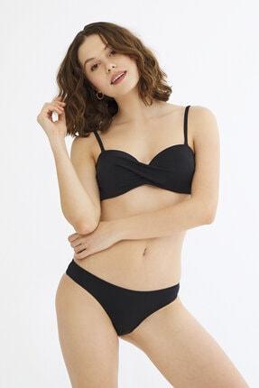 Penti Siyah Basic Bikini Üstü 4