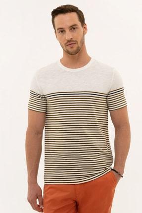 Picture of Acık Hakı Erkek T-Shirt G021GL011.000.977932