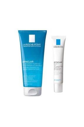 La Roche Posay Effaclar Duo (+) Bakım Kremi 15 Ml + Effaclar Yüz Temizleme Jeli 50 Ml 0