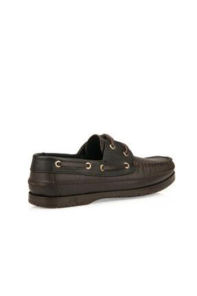 Ziya Hakiki Deri Kahve Siyah Erkek Ayakkabı 101119 29 4