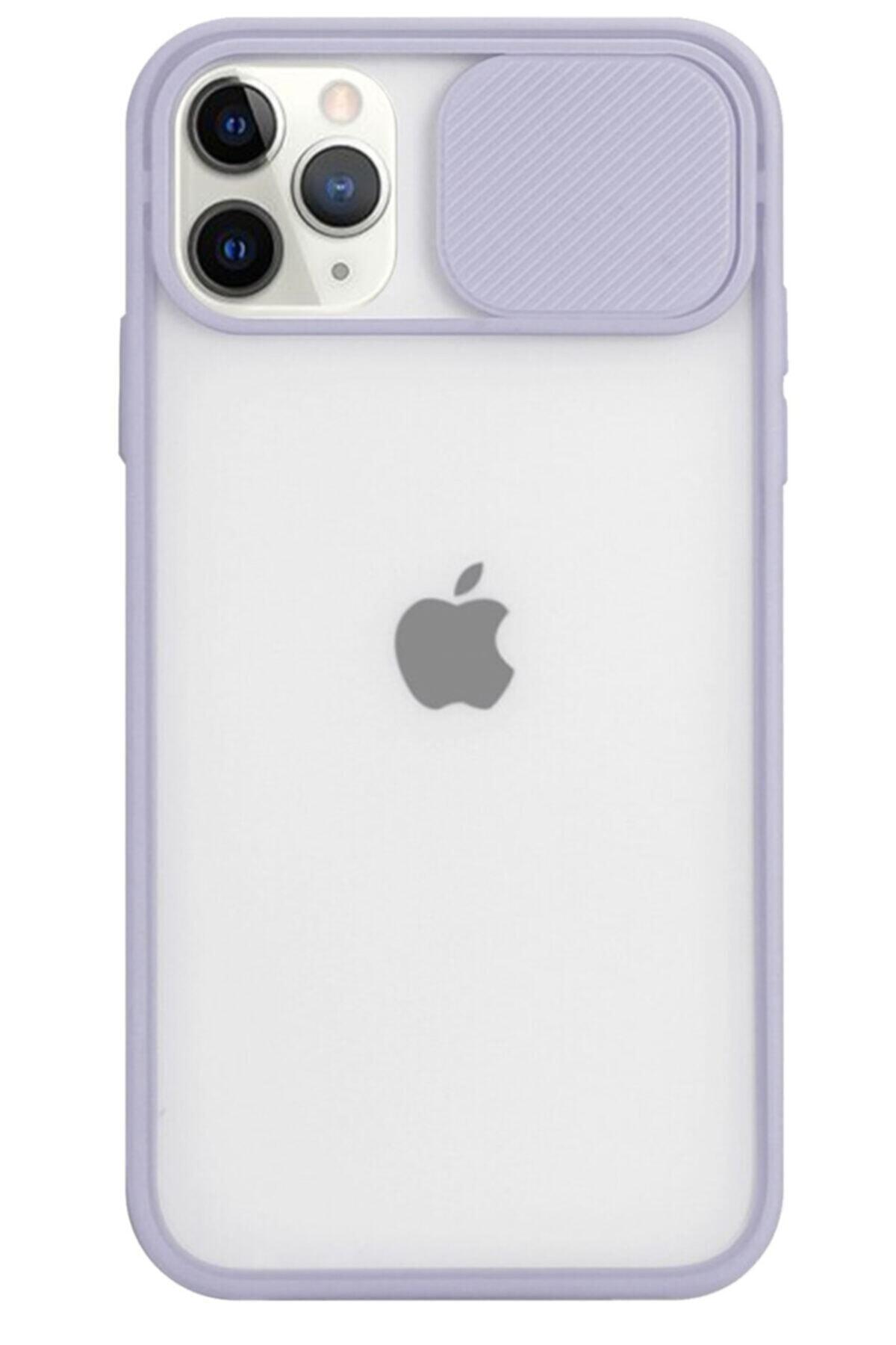 Iphone 12 Pro Max Kamera Korumalı Slayt Telefon Kılıfı