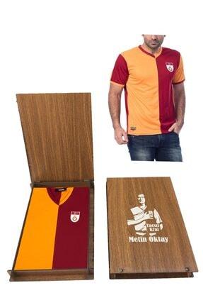 Picture of Galatasaray Fan (polyester) Metin Oktay Forma Ahşap Kutulu