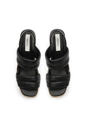 İpekyol Hasır Şeritli Topuklu Sandalet 1