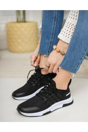 TUGGON Unisex Spor Tam Ortopedik Triko Sneaker Ayakkabı 1