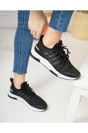 TUGGON Unisex Spor Tam Ortopedik Triko Sneaker Ayakkabı 2
