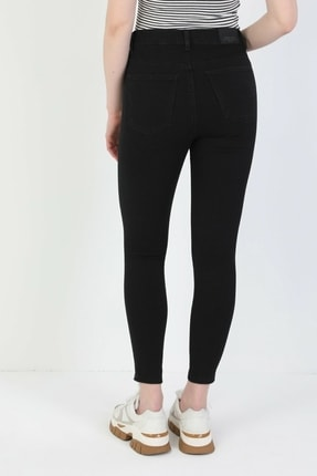Colin's Kadın Siyah Süper Slim Fit Kadin Pantalon 3