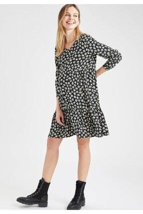 Defacto Kadın Hamile Elbisesi 0