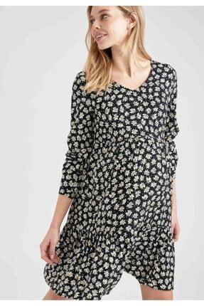 Defacto Kadın Hamile Elbisesi 3