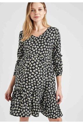 Defacto Kadın Hamile Elbisesi 4
