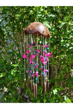 Turkuaz hediyelik Coco-renkli Kabuklu Rüzgar Çanı 0