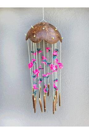 Turkuaz hediyelik Coco-renkli Kabuklu Rüzgar Çanı 1